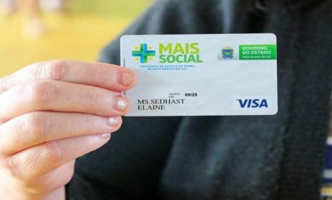 Mais Social: Governo do Estado injeta mais de R$ 5 milhões na economia de MS com pagamento de benefícios sociais
