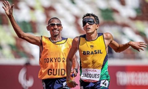 Do MS, Yeltsin Jacques é ouro no atletismo na Paralimpíada de Tóquio