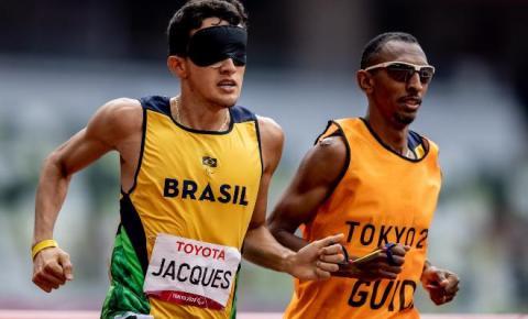 Yeltsin Jacques, de Campo Grande, brilha novamente e conquista seu segundo ouro nas Paralimpíadas