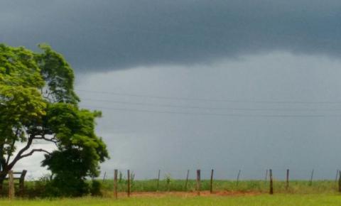 Tempo seguirá instável no final de semana em Mato Grosso do Sul
