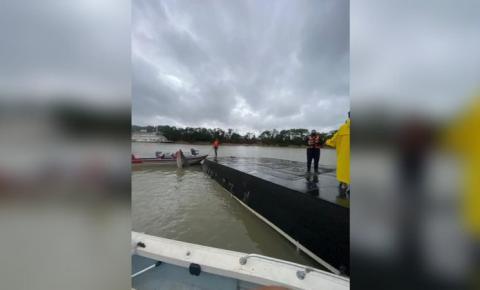 Bombeiros confirmam 1 óbito e diversos desaparecidos em embarcação que naufragou no rio Paraguai