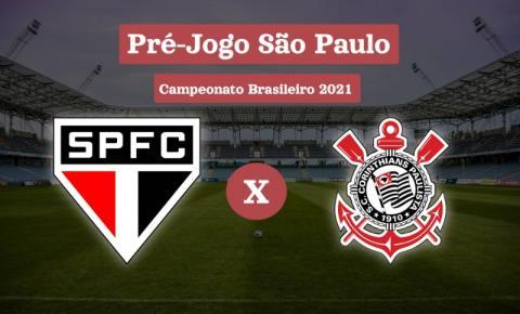 Clássico entre São Paulo x Corinthians fecha rodada do Brasileirão