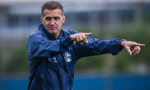 Vagner Mancini revela detalhes dos primeiros dias como técnico do Grêmio: