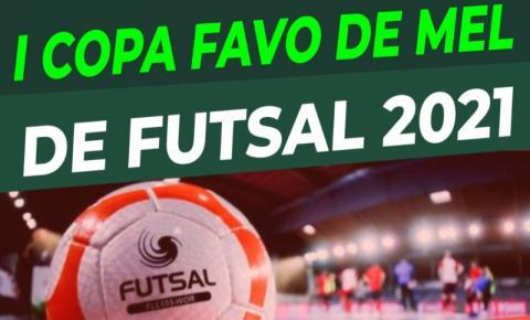 Copa Favo de Mel de Futsal começa nesta segunda feira em Fátima do Sul