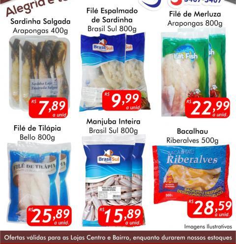 Confira as ofertas da Sexta do Peixe no Mercado Julifran de Fátima do Sul