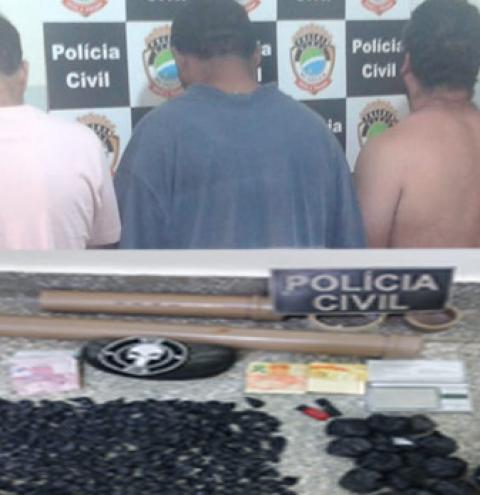 Empresários do tráfico são presos durante Operação Dolos em Fátima do Sul