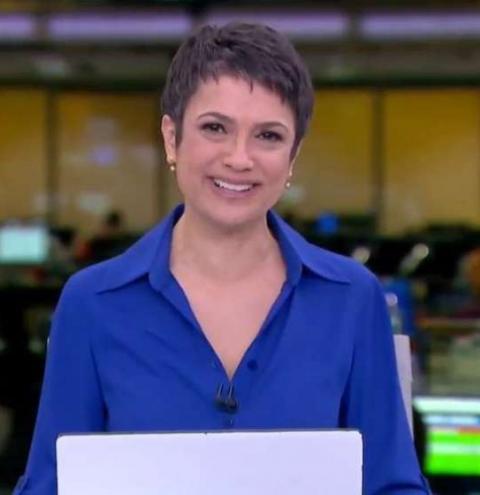 Sandra Annenberg chora ao se despedir do 'JH' após 16 anos