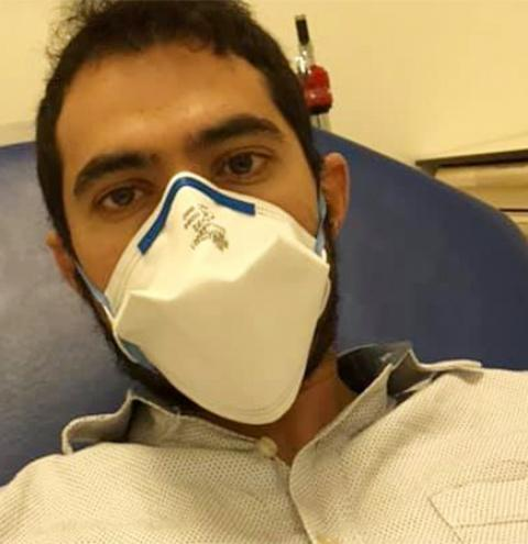 Fátimassulense que reside na França é diagnosticado com coronavírus e alerta para cuidados
